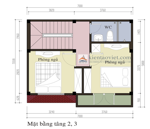 T&#432; v&#7845;n thi&#7871;t k&#7871; nh&agrave; ph&#7889; 3 t&#7847;ng m&#7863;t ti&#7873;n 7 m&eacute;t | &#7843;nh 3