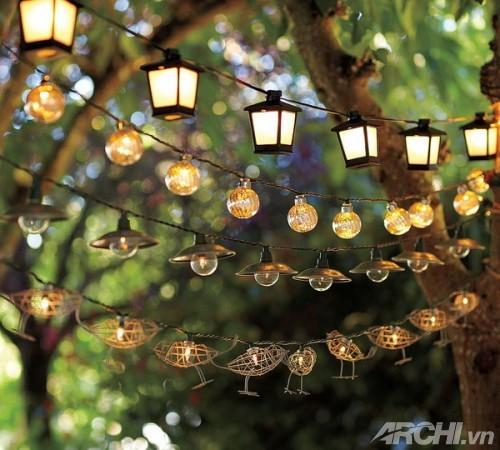 Ánh sáng cho vườn nhà đẹp lung linh | ảnh 4