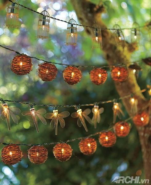Ánh sáng cho vườn nhà đẹp lung linh | ảnh 9