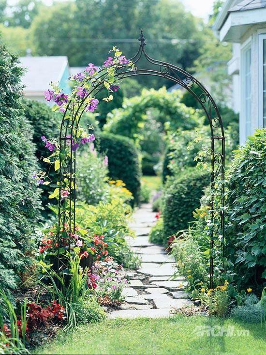 Góc vườn lãng mạn | ảnh 1