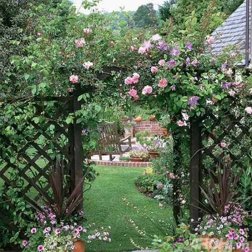 Những mẫu cổng đẹp cho biệt thự nhà vườn | ảnh 4