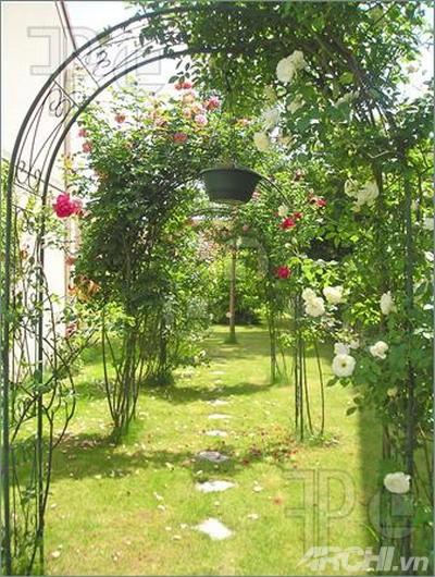 Những mẫu cổng đẹp cho biệt thự nhà vườn | ảnh 7