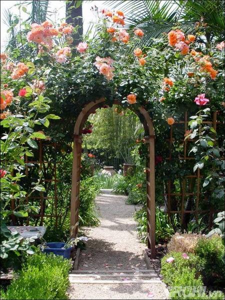 Những mẫu cổng đẹp cho biệt thự nhà vườn | ảnh 12