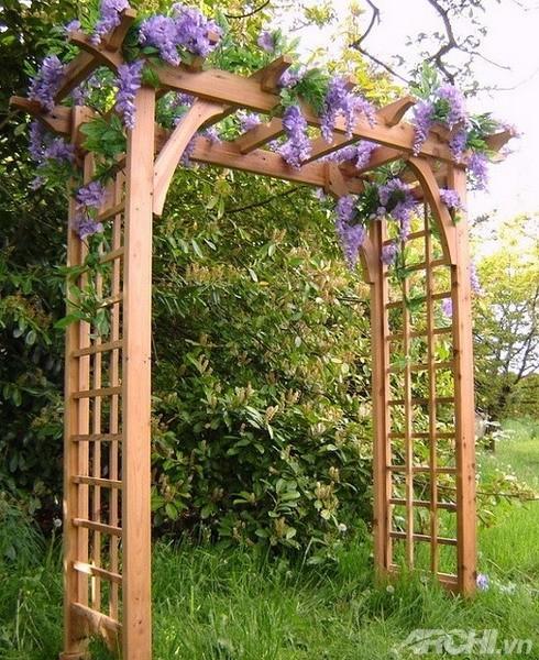 Những mẫu cổng đẹp cho biệt thự nhà vườn | ảnh 14