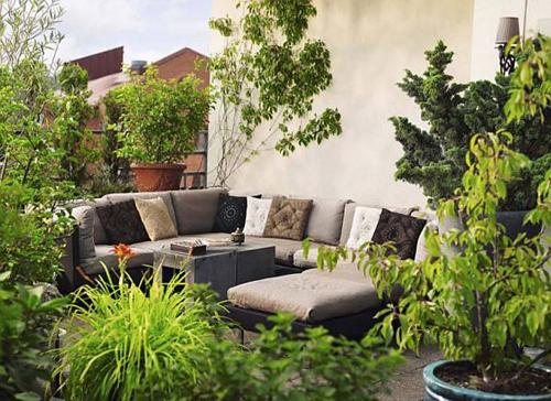 Thiết kế khu vườn đẹp theo kiểu Tây Ban Nha | ảnh 1