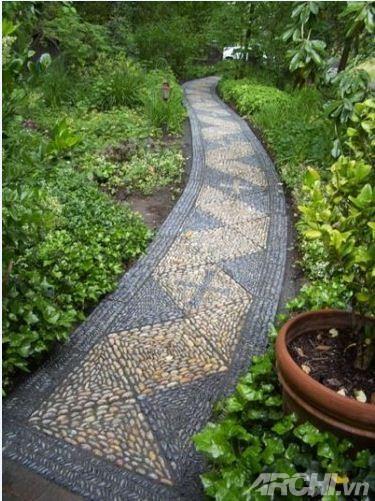 Tạo lối đi trong vườn theo phong cách mosaic | ảnh 5