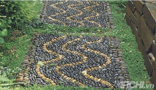 Tạo lối đi trong vườn theo phong cách mosaic | ảnh 6