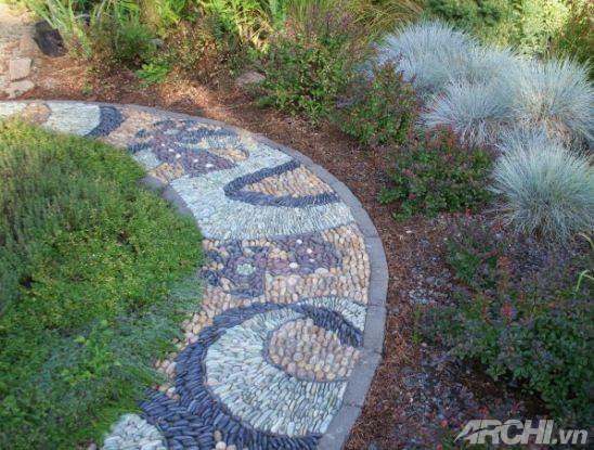 Tạo lối đi trong vườn theo phong cách mosaic | ảnh 8