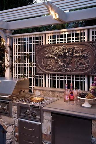 Không gian bếp đẹp ngoài hiên nhà | ảnh 5