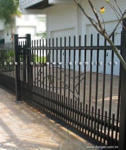 Hàng rào đẹp cho nhà ống | ảnh 3