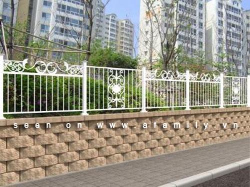 Hàng rào đẹp cho nhà ống | ảnh 5