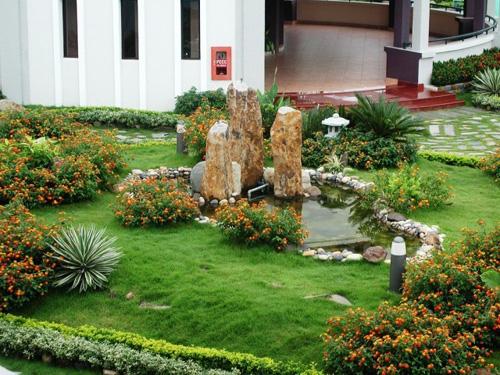 Ngoại thất sân vườn trong nhà hiện đại | ảnh 5