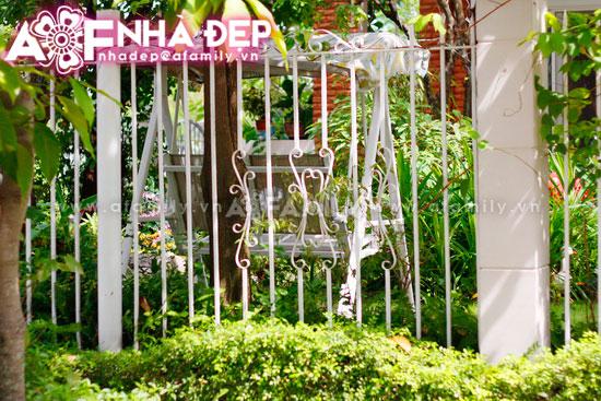 Những kiểu hàng rào kim loại làm duyên cho ngôi nhà | ảnh 1