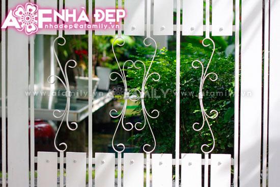 Những kiểu hàng rào kim loại làm duyên cho ngôi nhà | ảnh 6