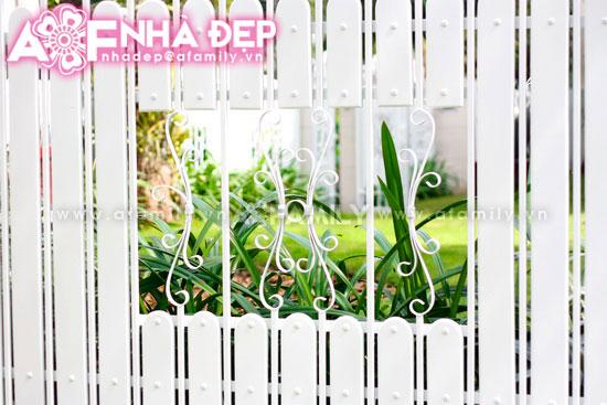 Những kiểu hàng rào kim loại làm duyên cho ngôi nhà | ảnh 7