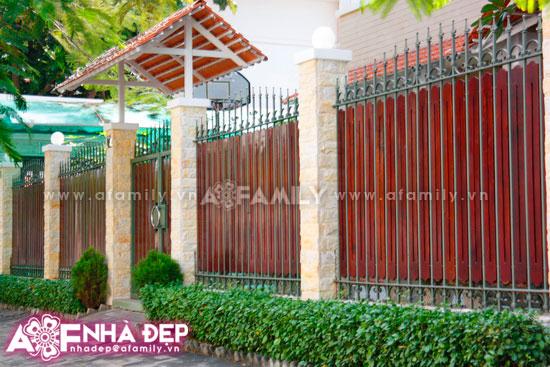Những kiểu hàng rào kim loại làm duyên cho ngôi nhà | ảnh 8
