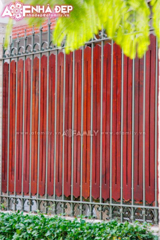 Những kiểu hàng rào kim loại làm duyên cho ngôi nhà | ảnh 10
