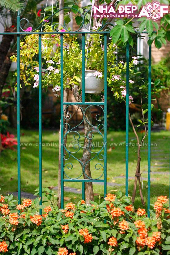 Những kiểu hàng rào kim loại làm duyên cho ngôi nhà | ảnh 12