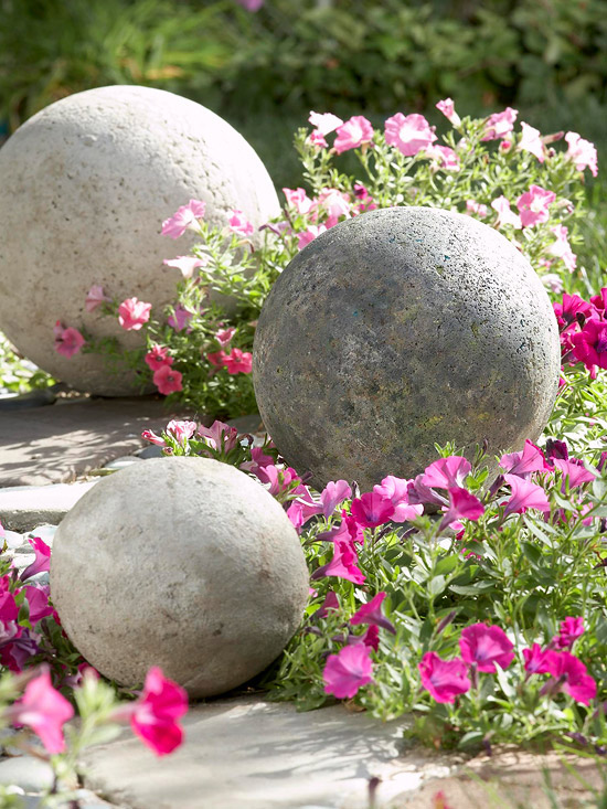 Trang trí vườn đẹp bằng những vật làm từ bê tông | ảnh 10