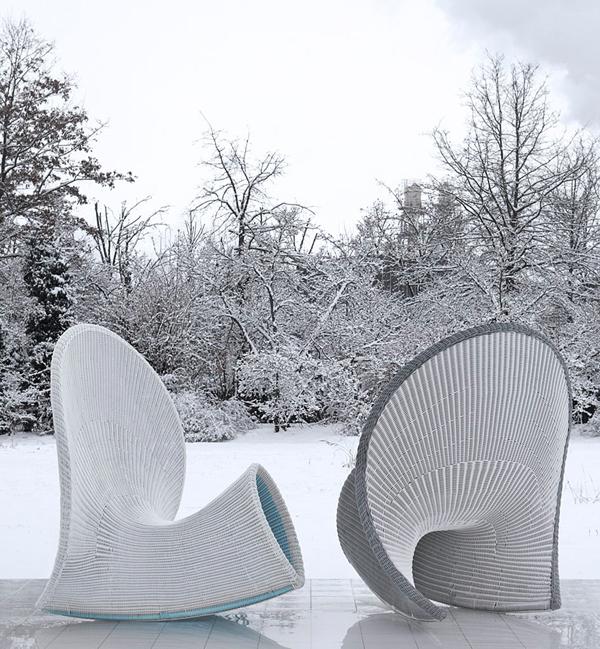 Những chiếc ghế lạ mắt cho không gian ngoài trời | ảnh 2