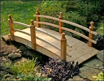 Cầu nhỏ - điểm nhấn cho nhà vườn | ảnh 2