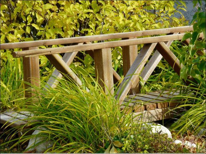 Cầu nhỏ - điểm nhấn cho nhà vườn | ảnh 8