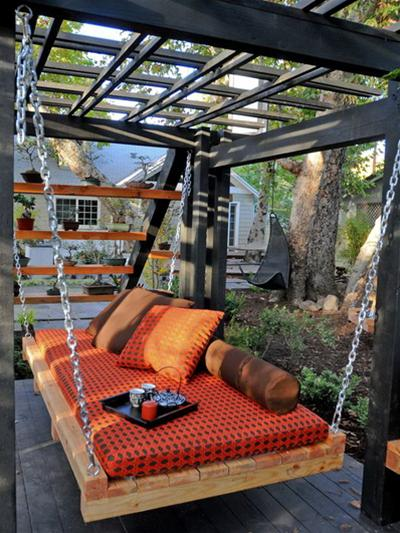 Những chiếc giường treo đẹp cho không gian ngoài trời | ảnh 3