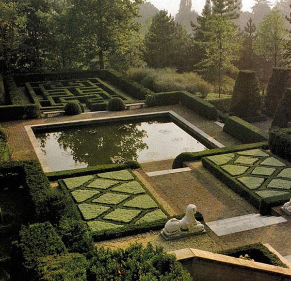 14 mẫu vườn đẹp cho biệt thự và nhà vườn | ảnh 13