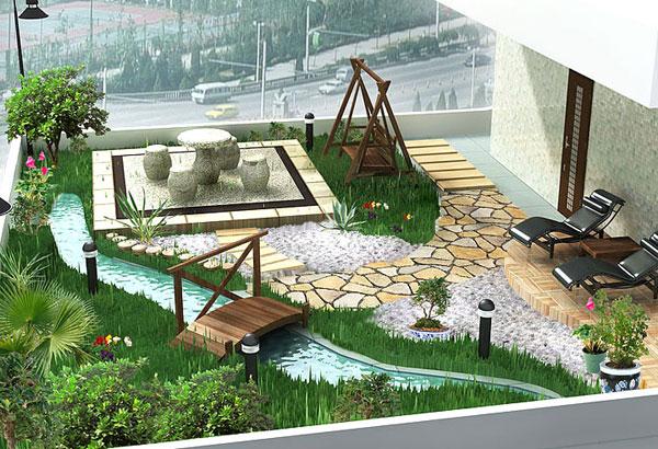 14 mẫu vườn đẹp cho biệt thự và nhà vườn | ảnh 6