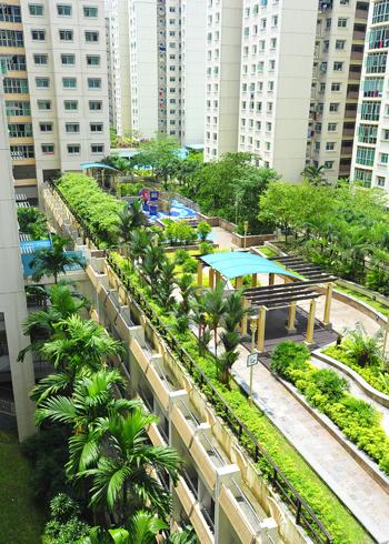 Phủ xanh nóc nhà cao tầng với công viên mini | ảnh 6