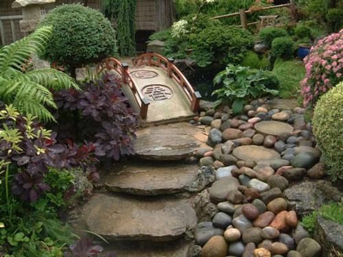 Tạo lối đi trong vườn với một màu xanh mướt | ảnh 4