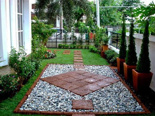 Tạo lối đi trong vườn với một màu xanh mướt | ảnh 5