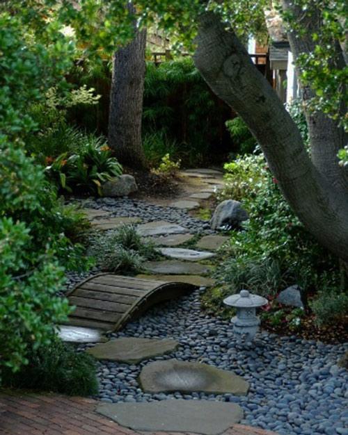 Tạo lối đi trong vườn với một màu xanh mướt | ảnh 8