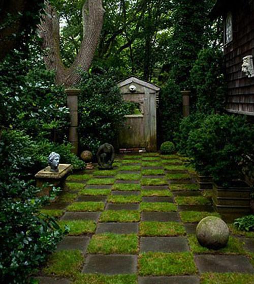 Tạo lối đi trong vườn với một màu xanh mướt | ảnh 9