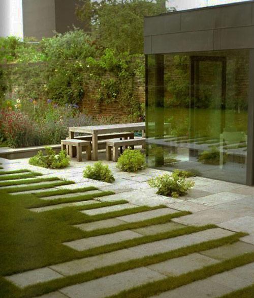 Tạo lối đi trong vườn với một màu xanh mướt | ảnh 16