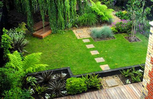 Tạo lối đi trong vườn với một màu xanh mướt | ảnh 23