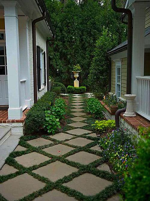 Tạo lối đi trong vườn với một màu xanh mướt | ảnh 25