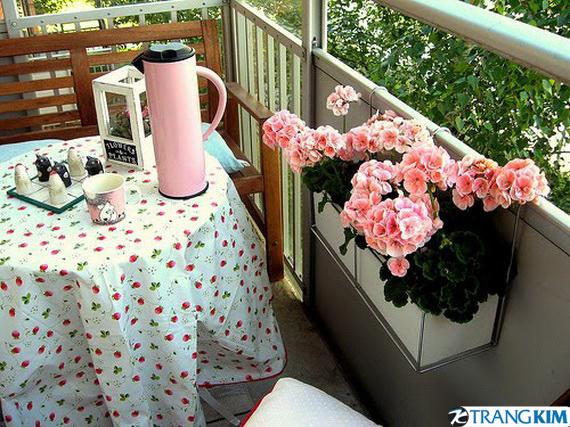 Góc thư giãn ngày hè ở ban công chung cư | ảnh 3