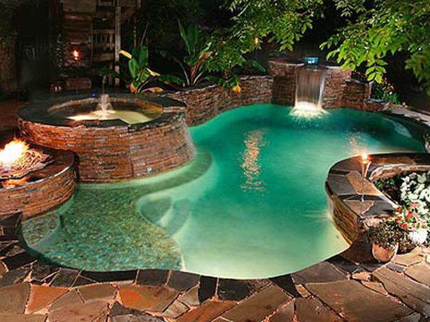 Không khí mát lành với bể bơi mùa hè | ảnh 7