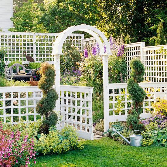 Những lối vào nhà vườn thơ mộng với cổng hoa | ảnh 5