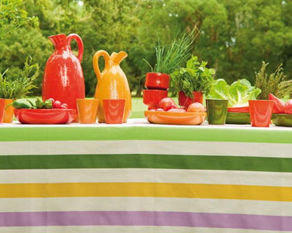 Trang trí cho bữa tiệc ngoài trời bằng khăn trải bàn | ảnh 8