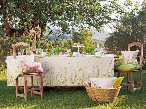 Trang trí cho bữa tiệc ngoài trời bằng khăn trải bàn | ảnh 9