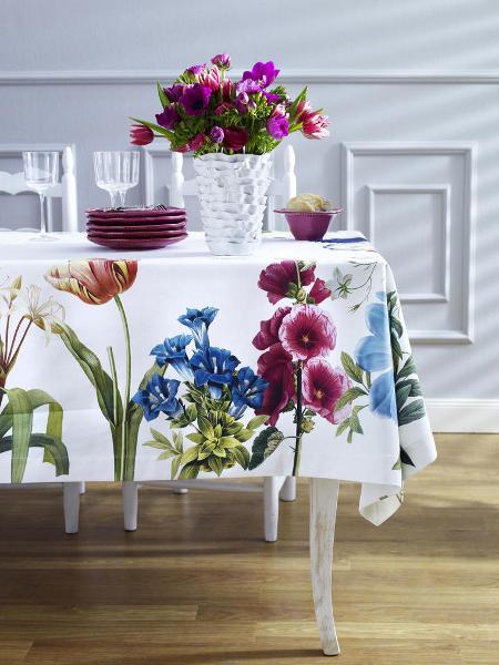 Trang trí cho bữa tiệc ngoài trời bằng khăn trải bàn | ảnh 11