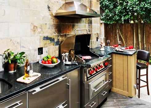 Những mẫu thiết kế bếp ngoài trời cho nhà vườn | ảnh 1