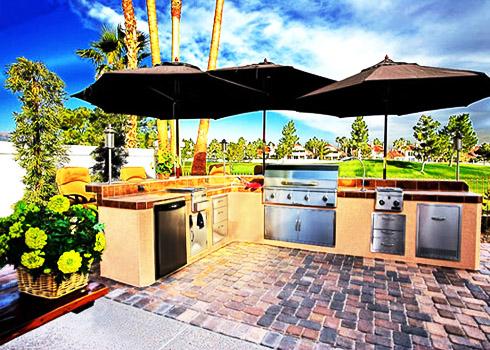 Những mẫu thiết kế bếp ngoài trời cho nhà vườn | ảnh 5