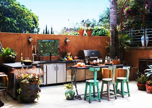 Những mẫu thiết kế bếp ngoài trời cho nhà vườn | ảnh 7