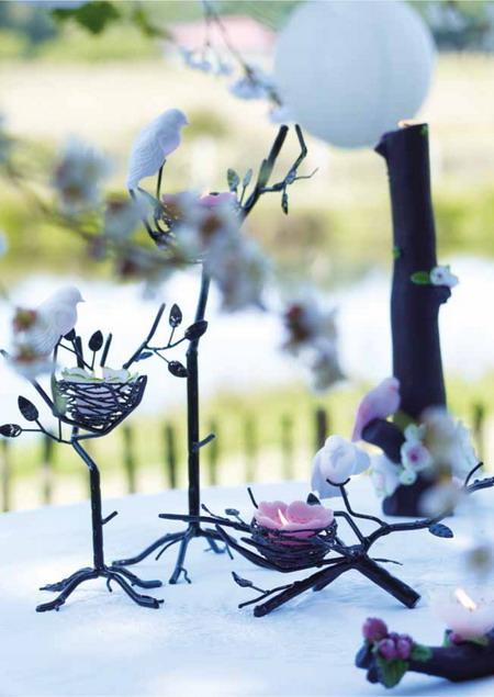Bài trí không gian ngoài trời lãng mạn với nến hoa | ảnh 3