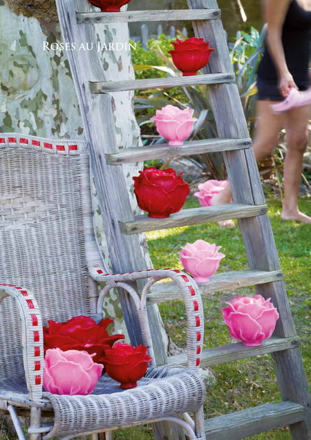 Bài trí không gian ngoài trời lãng mạn với nến hoa | ảnh 5