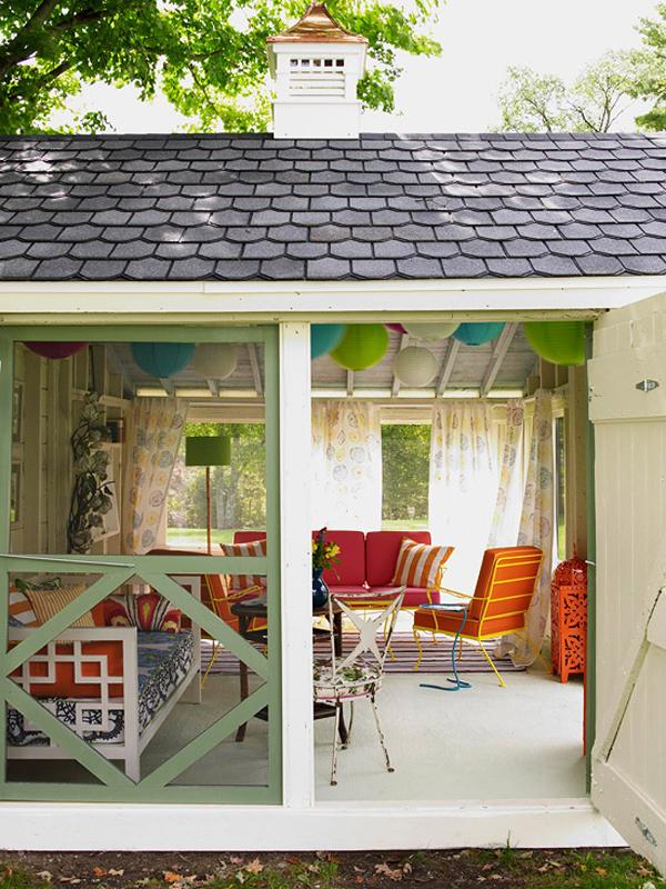 Tạo không gian thư giãn hoàn hảo dưới những mái hiên nhà | ảnh 1