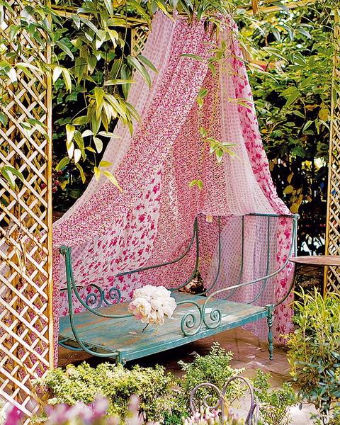 Cách làm điệu không gian ngoại thất với rèm | ảnh 9